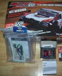 Turnigy Sct 1/10 Scale With Trackstar 17.5t Brushless Motor 80 Amp Esc Roar New