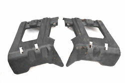 05 Yamaha Grizzly 660 4x4 Rear Left And Right A-arm Skid Plate Guards Yfm660f