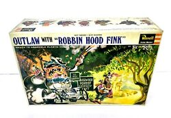 1965 Ed Big Daddy Roth Outlaw With Robbin Hood Fink Revell Kit In Vintage Box