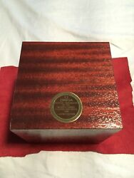 Vintage Speedy 1988 Olympic Games Le Wood Watch Box Omega
