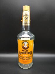Vintage Old Grand-dad 86 Proof Kentucky Straight Bourbon Whiskey Empty Bottle
