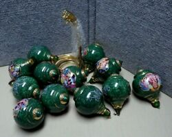 12 Wizard Of Oz Heirloom Ornaments With Brass Stands   Lc