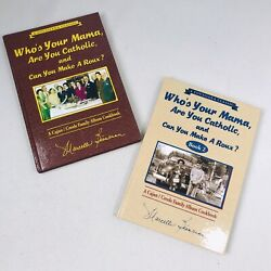 Who's Your Mama Are You Catholic Roux Book 1 And 2 Set Lot Bienvenu Cajun Creole