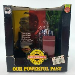 Vtg Martin Luther King Jr. Action Figure Mlk Our Powerful Past Olmec Toys 1992