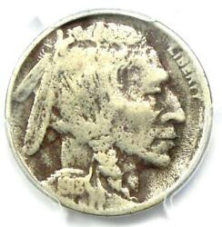 1918/7-d Buffalo Nickel 5c - Pcgs Fine Details - Rare Overdate Variety Coin