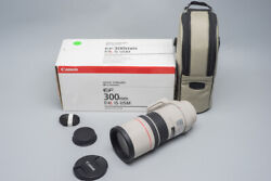 Canon Ef 300mm F/4 F4 L Is Usm Lens, Telephoto Suit Eos 6d 5d Mark Ii Iii Iv 1dx