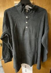 Soft Surroundings Cuddle Pullover Tunic - Charcoal - Size 3x