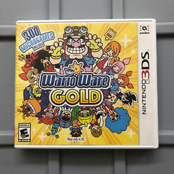 Warioware Gold Nintendo 3ds Authentic Usa Ntsc Version Case Artwork Only No Game