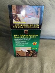 Electronic Barking Watch Dog Alarm System With Remote Brand New In Box