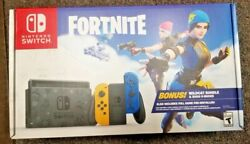 Nintendo Switch Fortnite Special Edition With Preinstalled Game No Code Nib -new