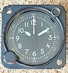 Waltham Watch Co Type A-13a Aircraft Chronograph Clock 20 Jewels