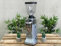 Brand New Mazzer Robur S Electronic Coffee Grinder - Silver