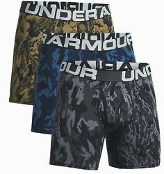 Under Armour Charged Cotton Boxerjock 6 Inch 3er - Pack