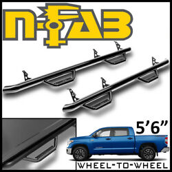 N-fab Nerf Bars Wheel-wheel Step Bars Fit 2007-21 Tundra Crewmax Cab W/ 5and0396 Bed