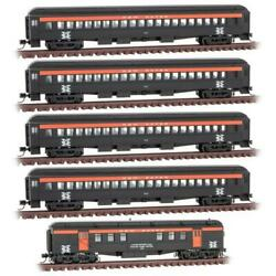 Micro Trains 993002110 N Scale New Haven Heavyweight 5-pack