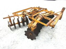 Used Athens 6 Ft.3 Pt. Lift Hd Disc Harrow Free 1000 Mile Shipping From Ky