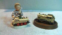 Hummel Full Speed Ahead Gold Edition No Box 2157 With Functionel Marklin Train