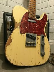 Usa Relic Fender American Telecaster Electric Guitar By Nateand039s Relic Guitars