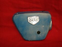 Oem 68-69 Honda Cl350 Right Side Air Filter Cover With Emblem Cb350 1968 1969