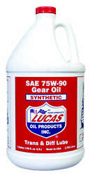 10048 Lucas Oil Products Synthetic Sae 75w 90 Trans And Diff Lube