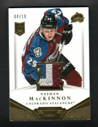 2013-14 Panini Dominion Nathan Mackinnon Rookie Materials Limited Only 04/10 Rc
