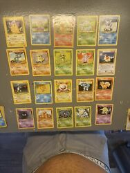 1999 Pokemon Base Set 20 Card Never Played Mint Lot Pikachu Squirtle Charmander