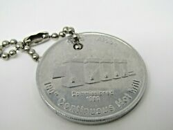 Sms Alcoa 1989 Coin Token 100 Continuous Hot Mill First Ingot Rolled Aluminum