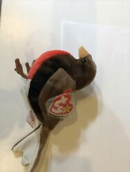1997 Ty Beanie Baby Early Tag Errors Red Breasted Robin