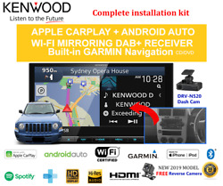 Kenwood Dnx9190dabs For Jeep Patriot 2007-2009 Mk - Stereo Upgrade