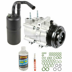 For Ford Crown Vic Lincoln Mercury 06-11 Oem Ac Compressor W/ A/c Repair Kit Csw