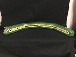 Pre Ww2 1932 Marx Collectible Tin Litho Union Pacific Locomotive With 3 Pass.ca.