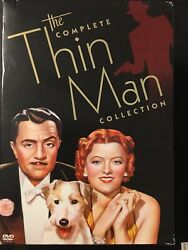 The Complete Thin Man Collection 7 Dvd Box Set After/another/shadow Of/goes Home