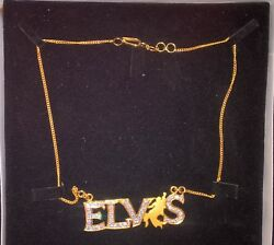 Elvis Sold Gold 22kt Necklace Stunning Look And Designspecially Made