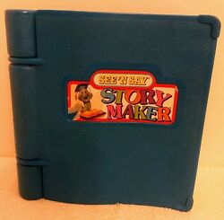 Vintage Mattel See And039n Say Story Maker Blue Silly Sentences Book Winky Worm 1991