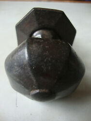 Antique Kenrick And Sons Cast Iron Center Pull Door Knob