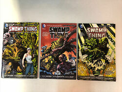 Swamp Thing Trade Paperback Tpb Lot 2012 Vol. 1 2 3 Nm Complete Set Dc New 52