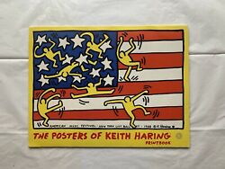 Keith Haring 1993 Printbook Te Neues 6 Vintage Posters Montreux Dogs Flag Print