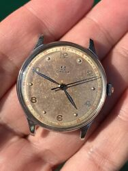 Omega Ref 2324/11 Calibre 30t2pc Sc Sector Dial Rare And Unique Vintage Watch
