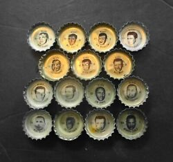 1965 And 1966 Coke Coca Cola Chicago Bears Bottle Caps Lot Of 15 Different