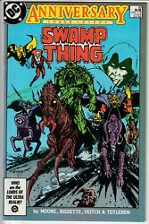 Swamp Thing 50 • Vol. 2 1986 2nd Appearance Of Justice League Dark