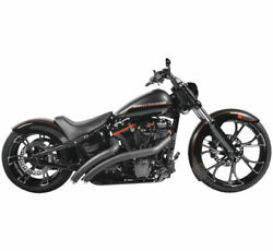 New Freedom Perf. Radical Radius Crossover With Star Tips For V-twin Hd01192
