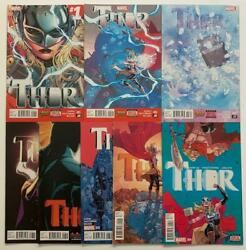 Thor 1 To 8 Complete Key Series Jane Foster As Thor Marvel 2014 Fn+ To Nm
