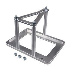 Universal Billet Tray Relocation Bracket Race Box Lower Mounting Tray Accepted