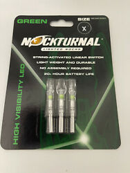 Nocturnal Green X Lighted Nocks Nt-505 Brand New