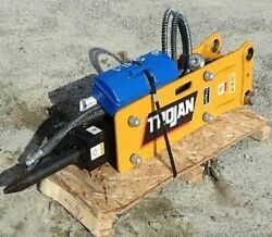 New Trojan Th35 Hydraulic Hammer For Excavator 2.5 To 4.5 Tons