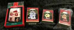 Hallmark Vintage, Exclusive The Night Before Christmas Ornaments-1992 And 1997