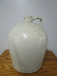 Antique American 5 Gal Whiskey Jug / Stoneware Crock Made In The U.s.a.
