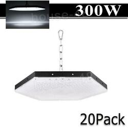 20x 300w Led High Bay Light Gym Factory Warehouse Industrial Shed Lighting Chain