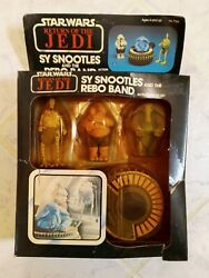 Vintage Star Wars Return Of The Jedi Sy Snootles And The Max Rebo Band, Never Open