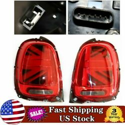 Pair Led Tail Lights Left And Right 2 Pcs For 2014-2018 Mini Cooper F55 F56 F57